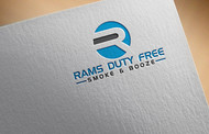 Rams Duty Free + Smoke & Booze Logo - Entry #150