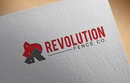 Revolution Fence Co. Logo - Entry #76