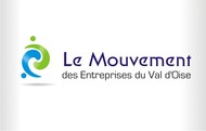 Le Mouvement des Entreprises du Val d'Oise Logo - Entry #41