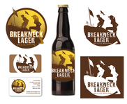 Breakneck Lager Logo - Entry #79