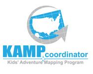 KAMPcoordinator : Kids' Adventure Mapping Program   Logo - Entry #15