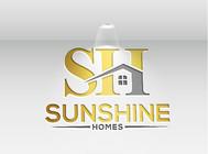 Sunshine Homes Logo - Entry #319