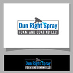 Dun Right Spray Foam and Coating LLC Logo - Entry #90