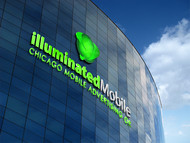 Illuminated Mobile  OR Illuminated M ... I own both urls and I'm still considering what brand to lead with. Logo - Entry #177