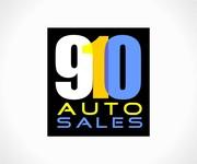 910 Auto Sales Logo - Entry #37