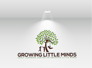 Growing Little Minds Early Learning Center or Growing Little Minds Logo - Entry #3