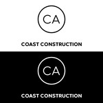 CA Coast Construction Logo - Entry #292