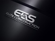 Elite Construction Services or ECS Logo - Entry #286
