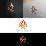ellie's essence candle co. Logo - Entry #117