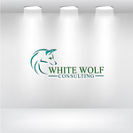 White Wolf Consulting (optional LLC) Logo - Entry #244