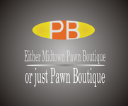 Either Midtown Pawn Boutique or just Pawn Boutique Logo - Entry #46