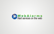Logo for WebAlarms - Alert services on the web - Entry #84