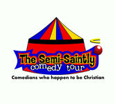 The Semi-Saintly Comedy Tour Logo - Entry #62