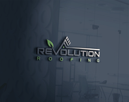Revolution Roofing Logo - Entry #255
