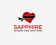 Sapphire Shades and Shutters Logo - Entry #80