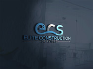 Elite Construction Services or ECS Logo - Entry #345