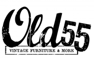 """""""OLD 55"""" - mid-century vintage furniture and wares store Logo - Entry #154"""
