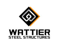 Wattier Steel Structures LLC. Logo - Entry #60