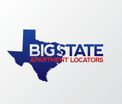Big State Apartment Locators Logo - Entry #12