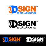 3D Sign Solutions Logo - Entry #103