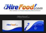 iHireFood.com Logo - Entry #106