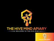 The Hive Mind Apiary Logo - Entry #111