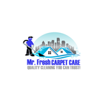 Mr. Fresh Carpet Care Logo - Entry #96