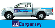 J.T. Carpentry Logo - Entry #64