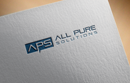 ALL PURE SOLUTIONS Logo - Entry #34