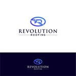 Revolution Roofing Logo - Entry #242