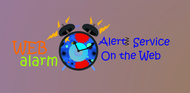 Logo for WebAlarms - Alert services on the web - Entry #18