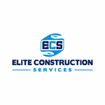 Elite Construction Services or ECS Logo - Entry #318