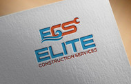 Elite Construction Services or ECS Logo - Entry #334
