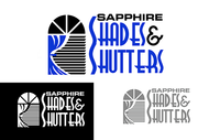 Sapphire Shades and Shutters Logo - Entry #132