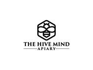 The Hive Mind Apiary Logo - Entry #77