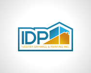 IVESTER DRYWALL & PAINTING, INC. Logo - Entry #41