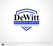 """DeWitt Insurance Agency"" or just ""DeWitt"" Logo - Entry #96"