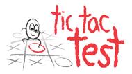 TicTacTest Logo - Entry #103