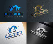 ALLRED WEALTH MANAGEMENT Logo - Entry #655