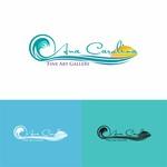 Ana Carolina Fine Art Gallery Logo - Entry #152