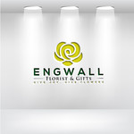 Engwall Florist & Gifts Logo - Entry #95