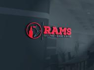 Rams Duty Free + Smoke & Booze Logo - Entry #118