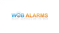 Logo for WebAlarms - Alert services on the web - Entry #121