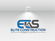 Elite Construction Services or ECS Logo - Entry #285