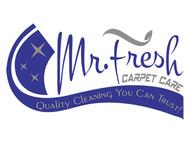 Mr. Fresh Carpet Care Logo - Entry #74