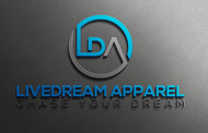 LiveDream Apparel Logo - Entry #207