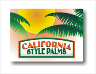 California Style Palms Logo - Entry #41