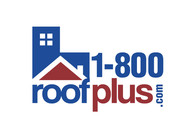 1-800-roof-plus  , i am also going to be using 1800roofplus.com for materials Logo - Entry #25