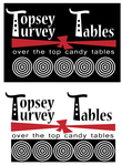 Topsey turvey tables Logo - Entry #81