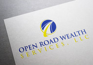 "Open Road Wealth Services, LLC  (The ""LLC"" can be dropped for design purposes.) Logo - Entry #81"